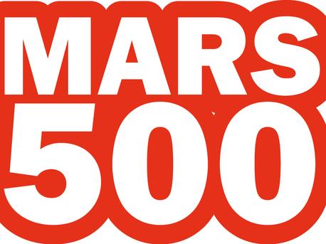 Das offizielle Logo der Isolationsstudie Mars500