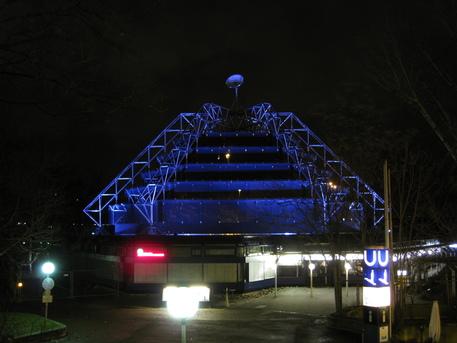 Das Stuttgarter Carl-Zeiss-Planetarium im Mittleren Schlossgarten.