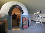 Das kleine Planetarium der Gaußstadt Braunschweig.