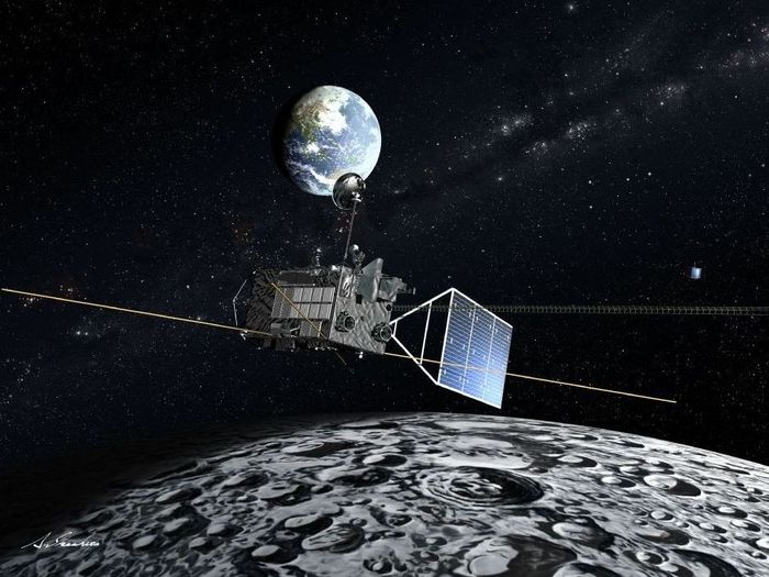 """Die im September 2007 gestartete Selene-Mission hat geholfen, Fragen nach dem Ursprung und der frühen Entwicklung des Mondes zu beantworten. Das """"Finale"""" der Mission ist nun ihre harte Landung auf der Mondoberfläche."""