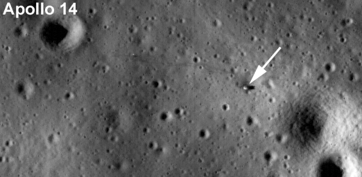Landestelle von Apollo 14