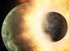 """Vor nur wenigen tausend Jahren kollidierten rund um den Stern HD 172555 im südlichen Sternbild Pfau zwei große Objekte. Nur einer der beiden """"überlebte"""" den Zusammenstoß."""