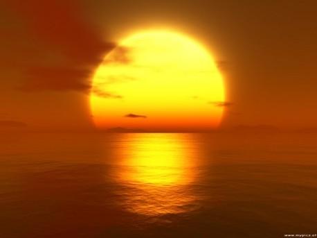 Bild Sonne von myPics.at