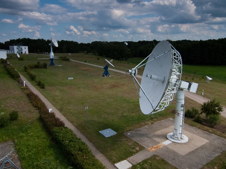 Satellitenempfangstation Neustrelitz