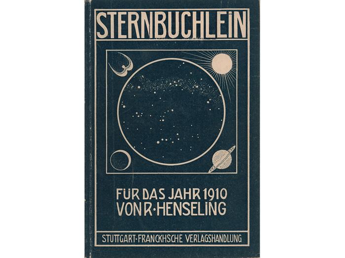 """Das """"Sternbüchlein 1910"""" -- Vorläufer des Kosmos Himmelsjahr"""