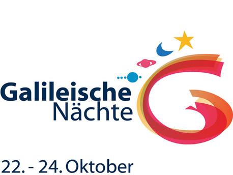 """Das Logo der """"Galileischen Nächte"""" vom 22. bis 24. Oktober 2009"""