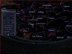 Gegen 22 Uhr steht das Raumfahrzeug ziemlich genau etwas oberhalb von Ypsilon Ceti.