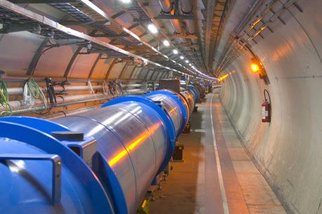 Bald nimmt das LHC ganz offiziell seine Arbeit auf