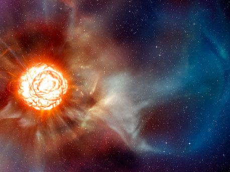 Red Giant - Close-up Photos of Dying Star Show Our Sun's ...
