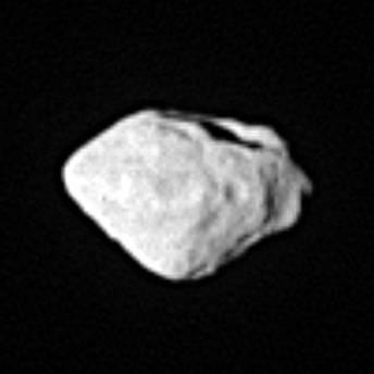 Asteroid Stein, wie ihn Rosetta beim Vorbeiflug sah