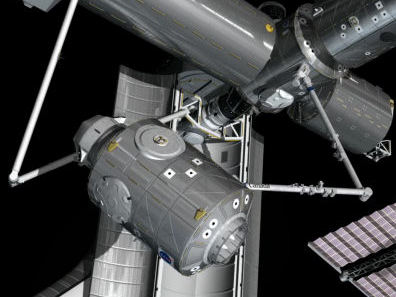 Nodo-3 conectado a la ISS