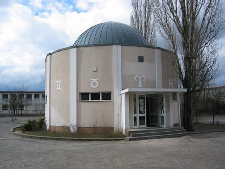 Das Planetarium in Hoyerswerda.