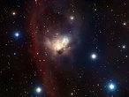 La delicada nebulosa NGC 1788, en el rincón de la constelación de Orión. Esta imagen fue obtenida empleando el Wide Field Imager en el telescopio MPG/ESO de 2,2 metros en el Observatorio La Silla de ESO en Chile.