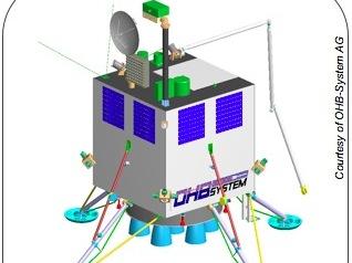 Propuesta de vehículo de alunizaje de OHB Technology