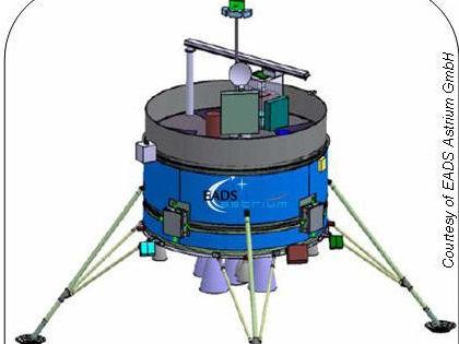 Propuesta de vehículo de alunizaje de EADS Astrium