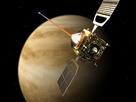Impresión artística de Venus Express.