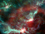 Región de la Nebulosa de Orión, observada por Planck