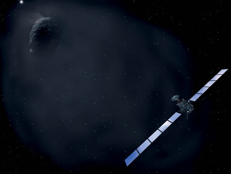 El destino final de Rosetta es el Cometa Churyumov-Gerasimenko