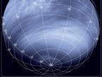 Imagen captada por una cámara ultravioleta (0,365 micrómetros), a una distancia de alrededor de 30 000 km.
