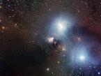 La région de R Coronae Australis photographiée par la camera WFI à La Silla