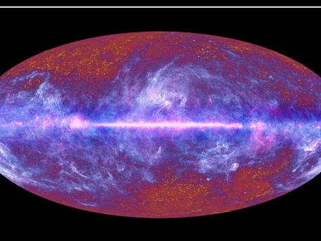 El cielo en microondas, observado por Planck