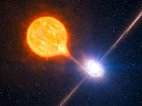 Ein stellares Schwarzes Loch