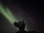 Southern Polar Light in Antarctica