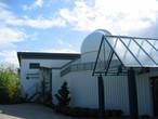 Die Volkssternwarte Laupheim mit dem Planetarium.
