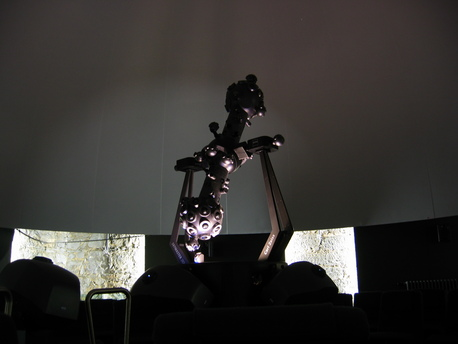 Der Zeiss-Planetariumsprojektor ZKP 4 im Sternenturm Judenburg.