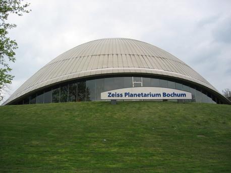 Das Planetarium in Bochum.