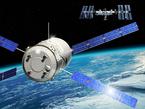 ATV im Anflug auf die ISS (künstlerische Darstellung)