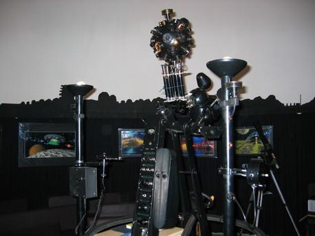 Der Zeiss-Projektor ZKP 1 im Planetarium der Scultetus-Sternwarte in Görlitz.
