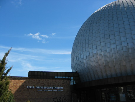 Das Zeiss-Großplanetarium in Berlin-Prenzlauer Berg.