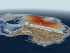 Eisdecke der Antarktis