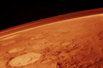 Der Mars und seine Atmosphäre, wie ihn die ersten Besucher sehen könnten.