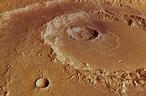 Der Hadley-Krater auf dem Mars. (C) ESA/DLR