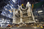 Space shuttle-era work platform. Credit: NASA/Jim Grossmann