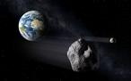 Ein die Erde passierender Asteroid. (c) ESA - P. Carril