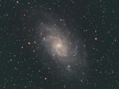 Galaxie M33 im Dreieck