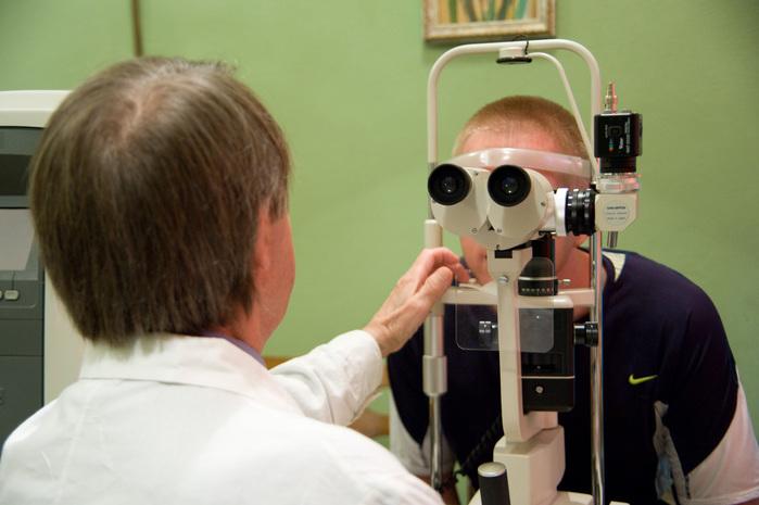 Es wurden Spezialisten konsultiert, unter anderem auch Augenärzte