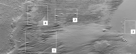 Übersichtsbild von Eumenides Dorsum