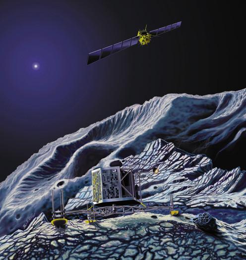 Landung von Philae auf Chury