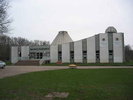 """Das Raumflugplanetarium """"Sigmund Jähn"""" in Halle an der Saale."""