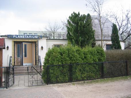 Das Planetarium in Herzberg.
