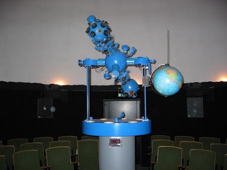 Der Skymaster-Projektor in Suhl war der erste, der weltweit installiert wurde.