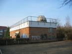 Das Gebäude der Astronomischen Station in Rostock.