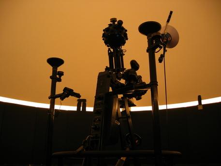 Der Zeiss-Projektor ZKP 1 im Planetarium Hannover.
