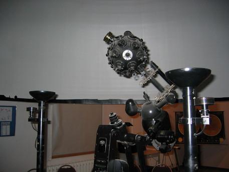 Der Zeiss-Projektor ZKP 1 in Jüterbog war zuvor in Potsdam in Betrieb.