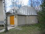 Das Planetarium der Zwickauer Sternwarte.