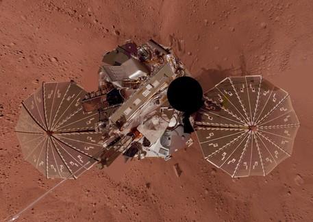 Self-Portrait: Phoenix on the Mars